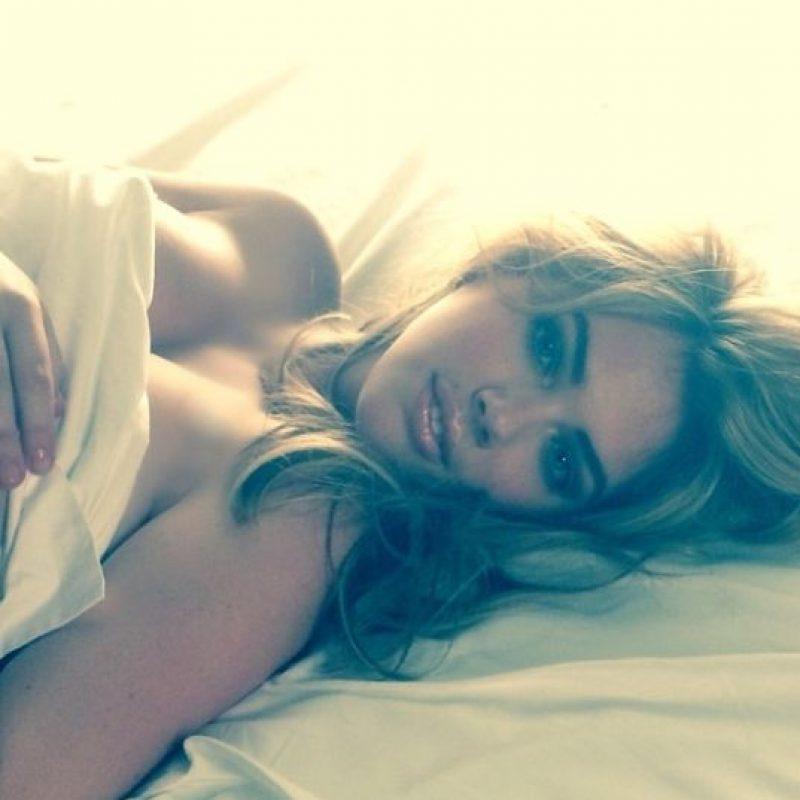 El Mejor selfie en la cama fue para la nacida en St. Joseph, Michigan Foto:Instagram