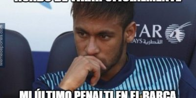 """MEMES: """"Trollean"""" a Neymar por fallar un penal en la Copa del Rey"""