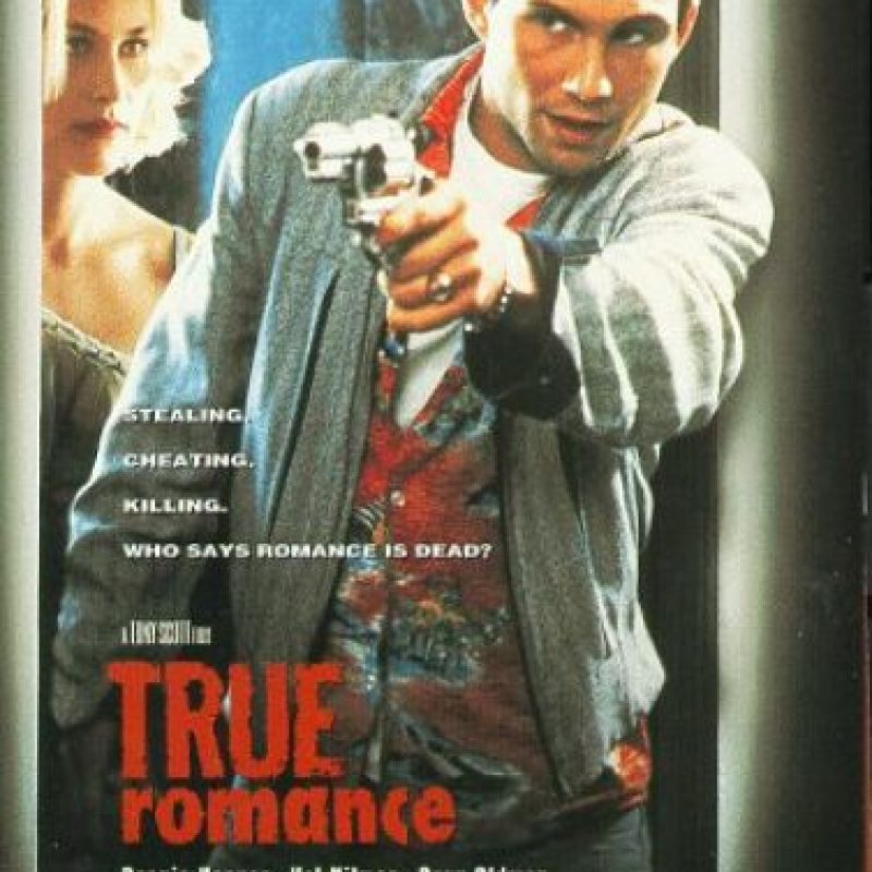 En True Romance también participaron Val Kilmer, Gary Oldman, Brad Pitt y Christopher Walken Foto:IMDB