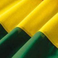 4. El amarillo y el verde son colores positivos para atraerlo, así que procura vestirte y traer objetos de esos colores. Foto:Tumblr.com/tagged-tela-verde-amarillo
