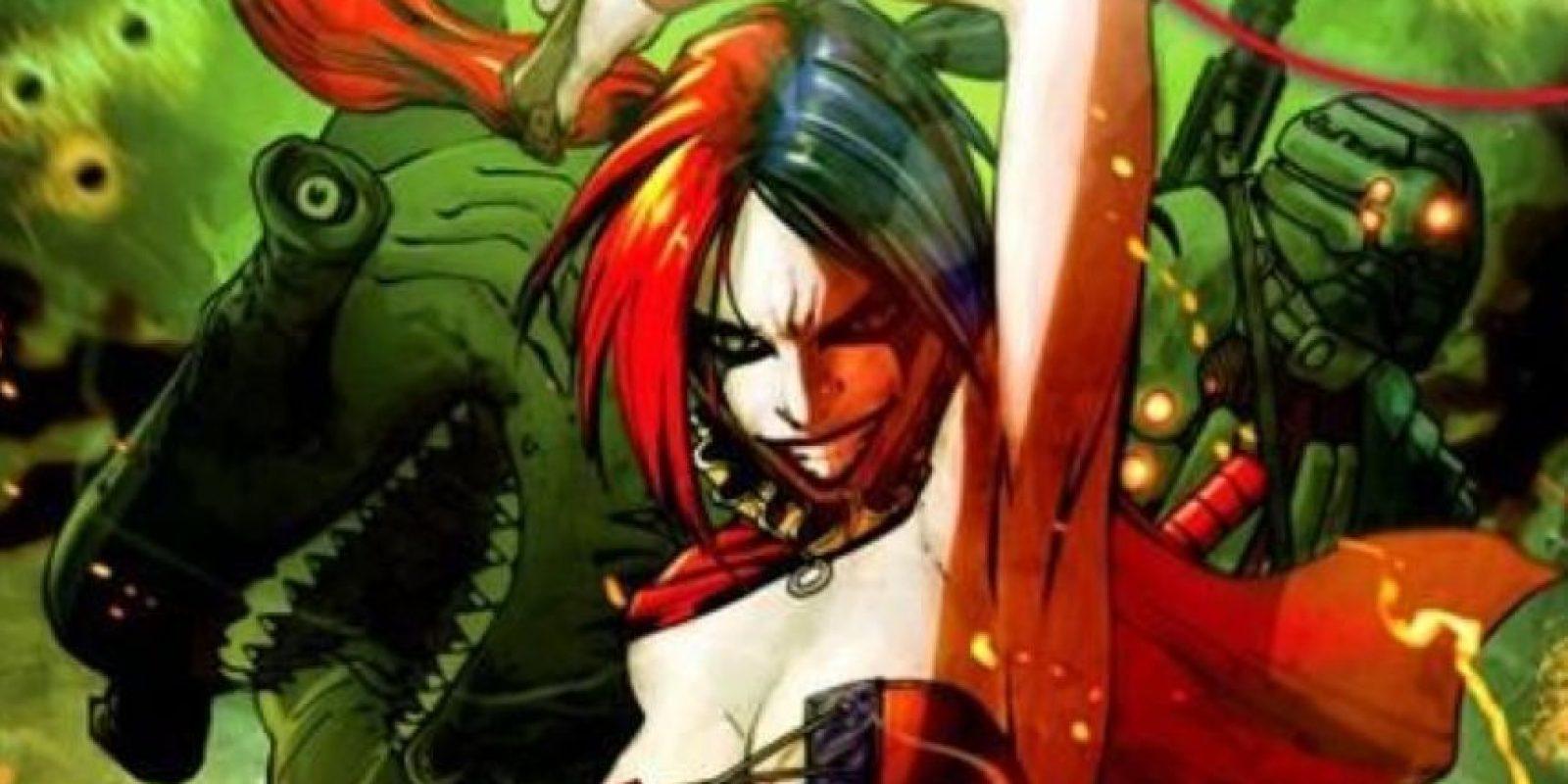 """""""Suicide Squad"""" es la película que narrará la historia de """"Harley Quinn"""", novia del """"Jóker"""" Foto:DC Cómics"""