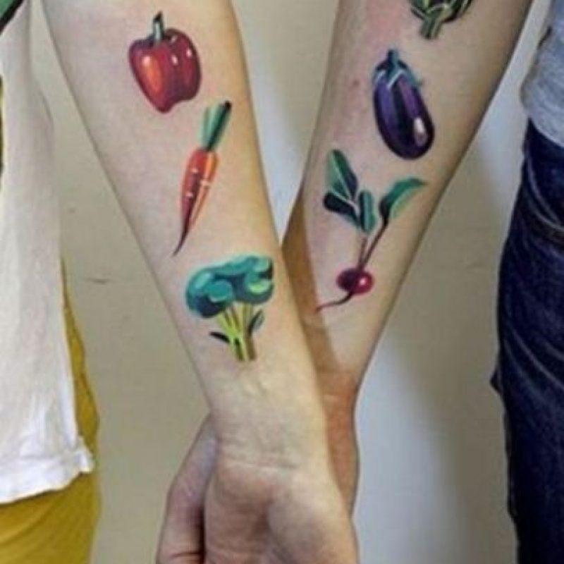 ¡Vegetales, sí! ¿? Foto:Dumpaday