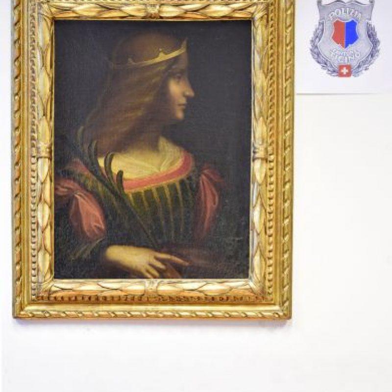 Este es el Retrato de Isabella D'Este. Foto:AP