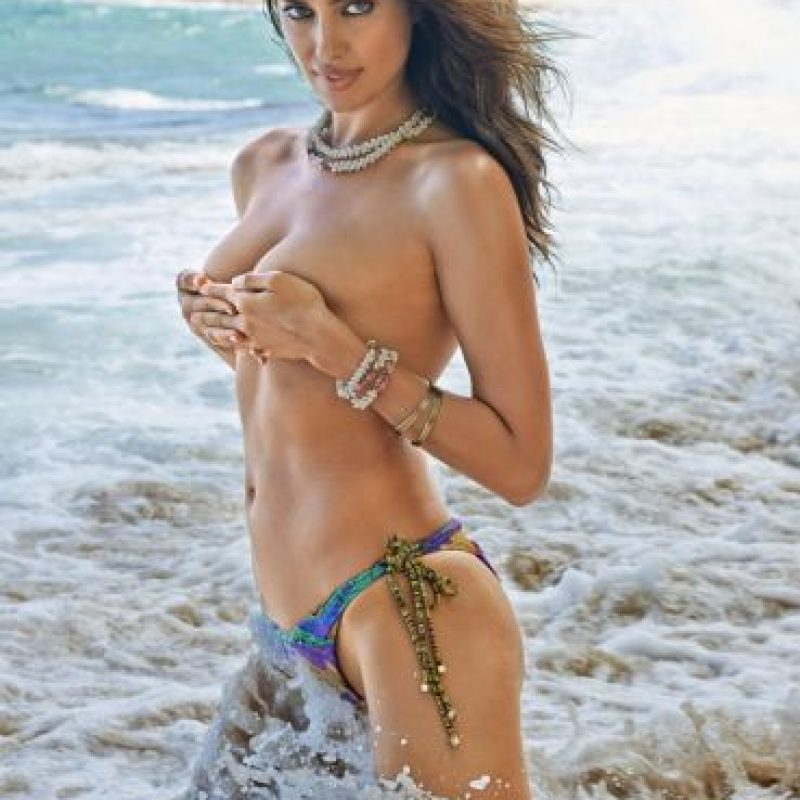 Así posó la modelo rusa para la edición especial Swimsuit Sports Illustrated Foto: Sports Illustrated