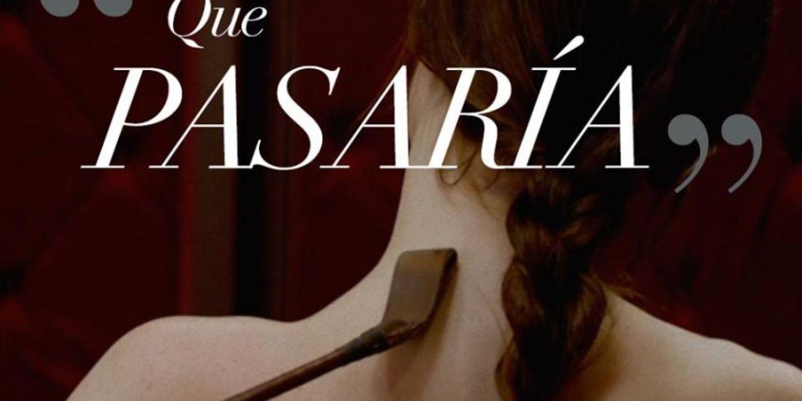"""""""Anastasia"""" es azotada 14 veces (tanto con la mano como con otros objetos) Foto:Facebook/Fifty Shades of Grey"""