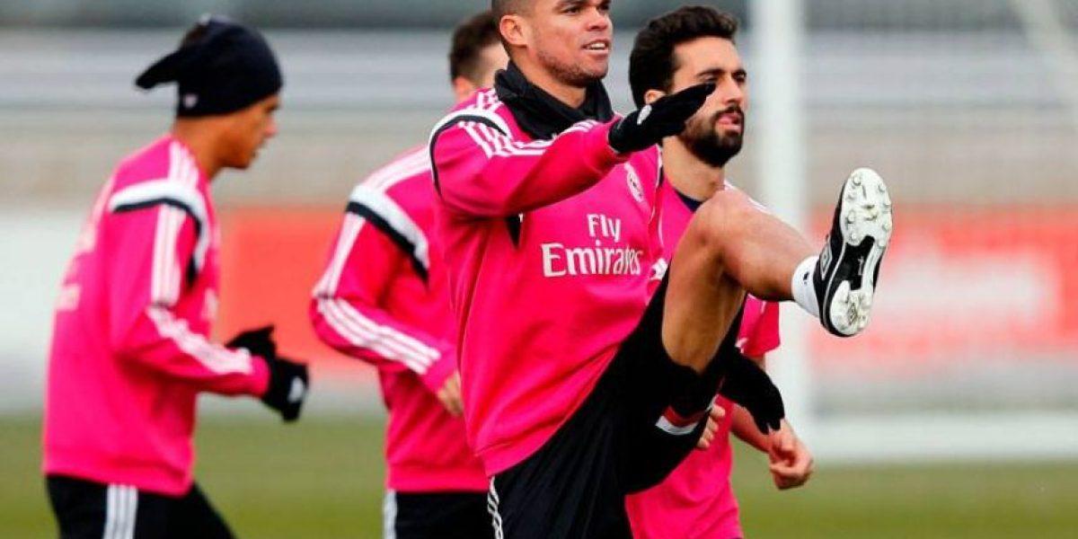 FOTOS. Pepe regresa a los entrenamientos del Real Madrid