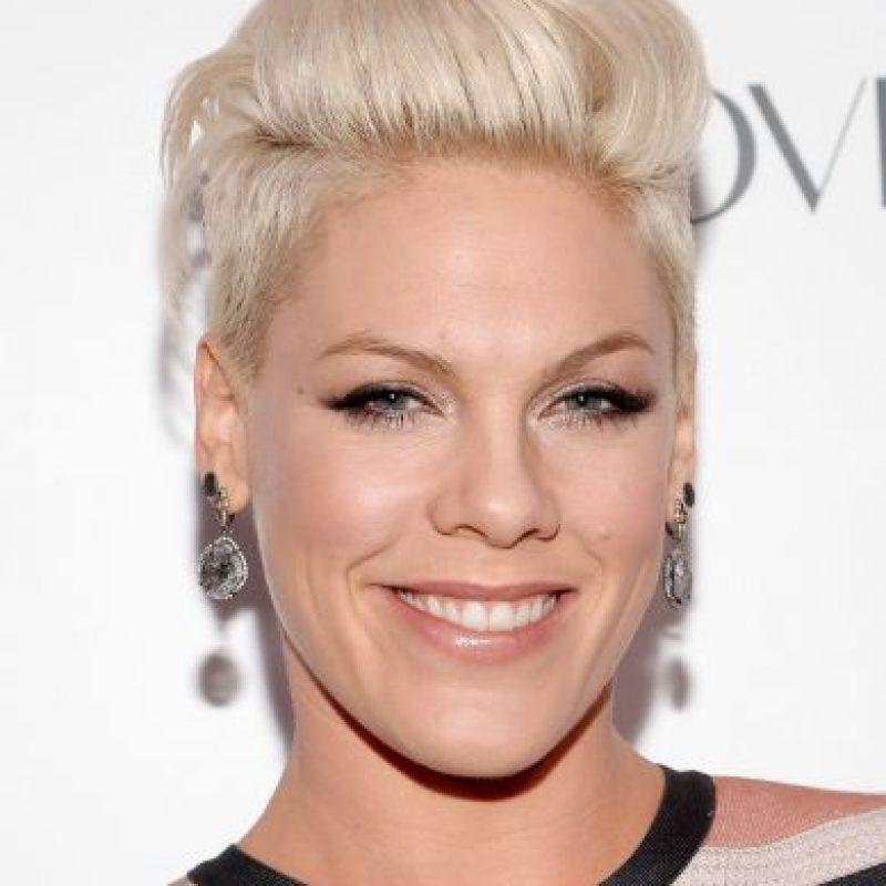 La cantante norteamericana Pink causa revuelo con su última fotografía Foto:Getty Images