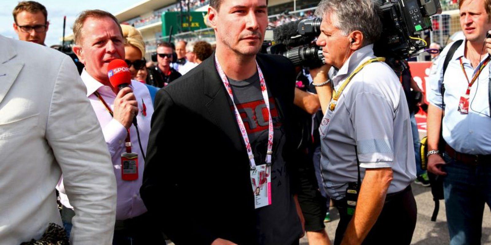 Aquí en el último GP de Estados Unidos Foto:Getty Images