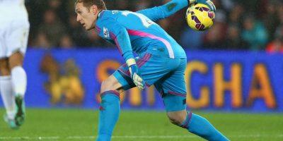 El portero alemán juega en el Swansea Foto:Getty Images