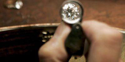 Este encontró el diamante tras asistir al parque dos días después de que se sucitarán intensas lluvias. Foto:Getty