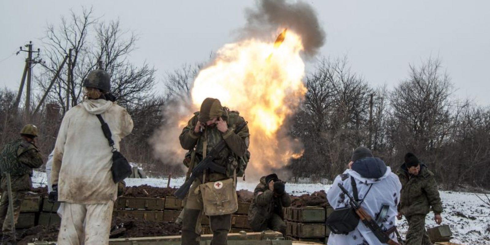 Muchos ucranianos han dejado sus viviendas por el miedo a la guerra. Foto:AP