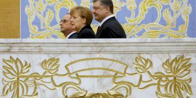 Los mandatarios esperan lograr la paz. Foto:AP