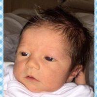 La primera imagen del rostro del niño. Foto:http://www.worldbabyshower.org/es