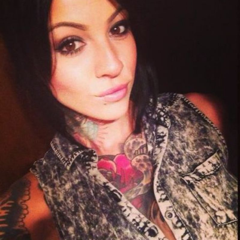 Llama la atención por sus múltiples tatuajes Foto:Facebook: Brittney Zahra Schreiber