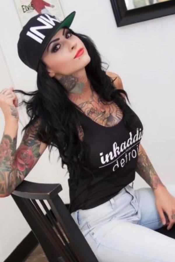 La también modelo firmó contrato con la WWE en junio pasado Foto:Facebook: Brittney Zahra Schreiber