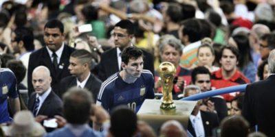 """""""La tristeza de Messi"""" en la final del Mundial gana premio de fotografía"""