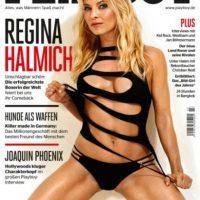 Así luce la portada de la revista del conejito en su versión alemana Foto:Playboy