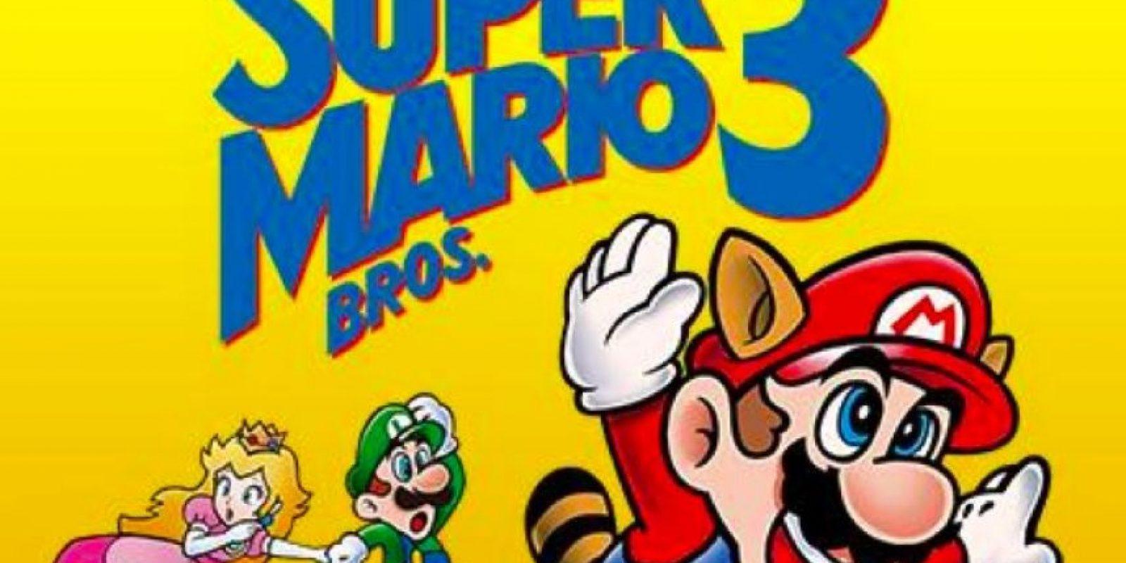Super Mario Bros. 3 cumple 25 años de su lanzamiento. Foto:Nintendo