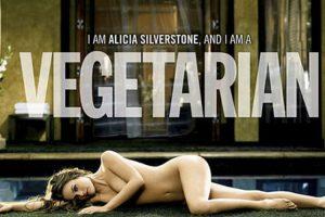 La actriz estadounidense Alicia Silverstone Foto:PETA.org