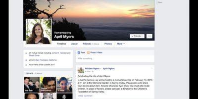 Así se verá el perfil de la persona fallecida. Foto:Facebook