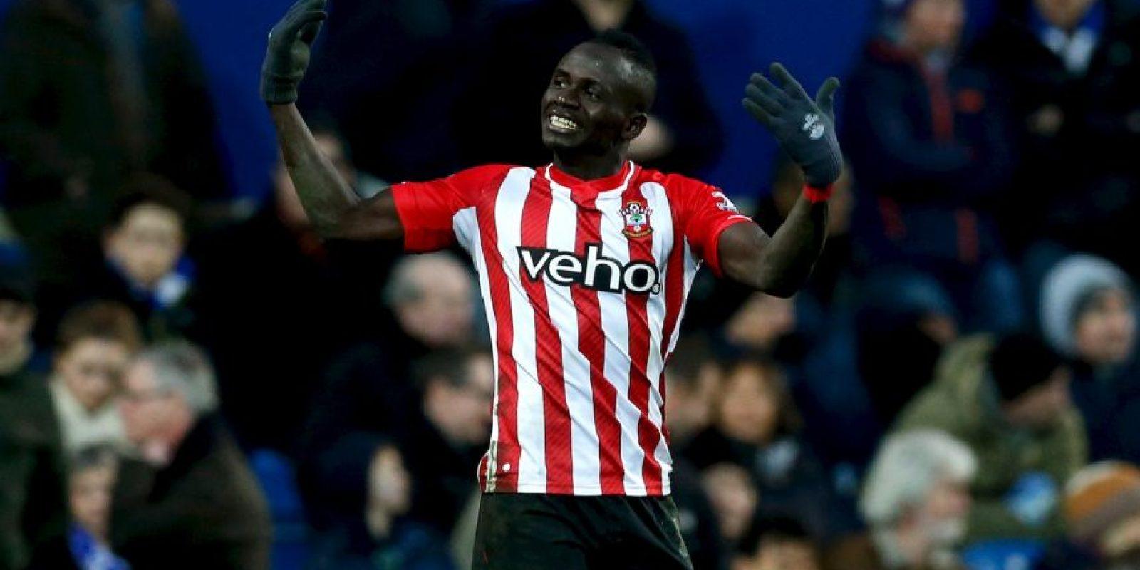 Mané milita en el Southampton y es parte de la Selección de Senegal Foto:Getty Images