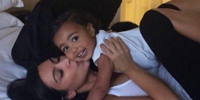 FOTO: Así se verían Kim Kardashian y North West si fueran dibujos animados