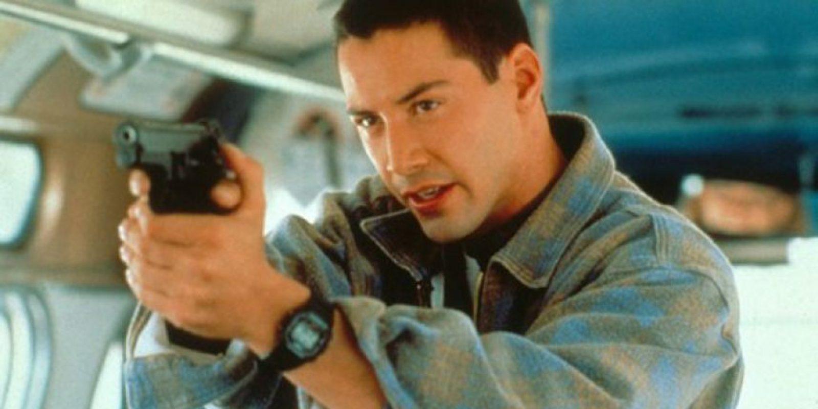 """El oficial """"Jack Traven"""" en """"Speed"""" (1994) Foto:Twentieth Century Fox Film Corporation"""