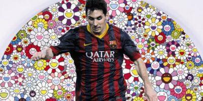 FOTOS. Mira el cuadro de Messi que puede costar 400 mil euros