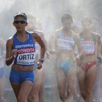 Ortiz se prepara para destacar en los Panamericanos y el Mundial de Atletismo. Foto:AFP