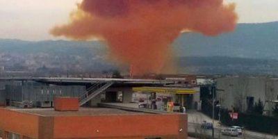 FOTOS: Nube tóxica obliga a 60 mil personas a permanecer en sus hogares
