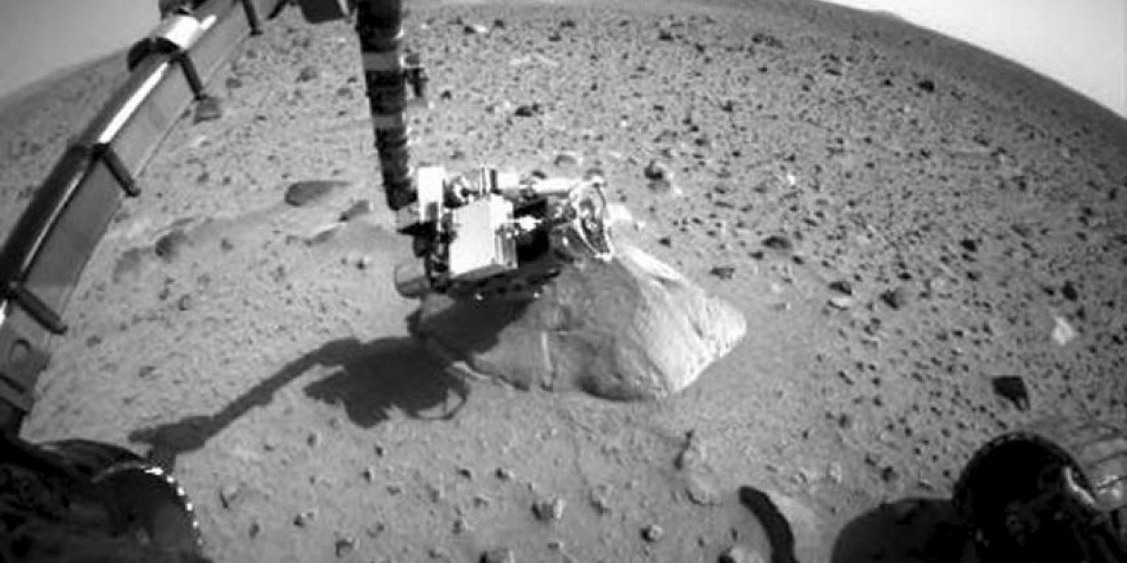 Imágenes dadas a conocer por la NASA sobre el Planeta Rojo, captadas con los robots Curiosity, Spirit y el Telescopio Hubble Foto:Getty Images