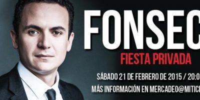 Felicidades a los ganadores de una fiesta VIP con Fonseca
