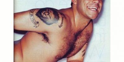 ¡Desnudo! Así celebró Robbie Williams su cumpleaños 41