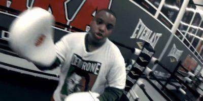 Jory Wilson realiza un entrenamiento para sentirnos como boxeadores profesionales. Foto:GoPro