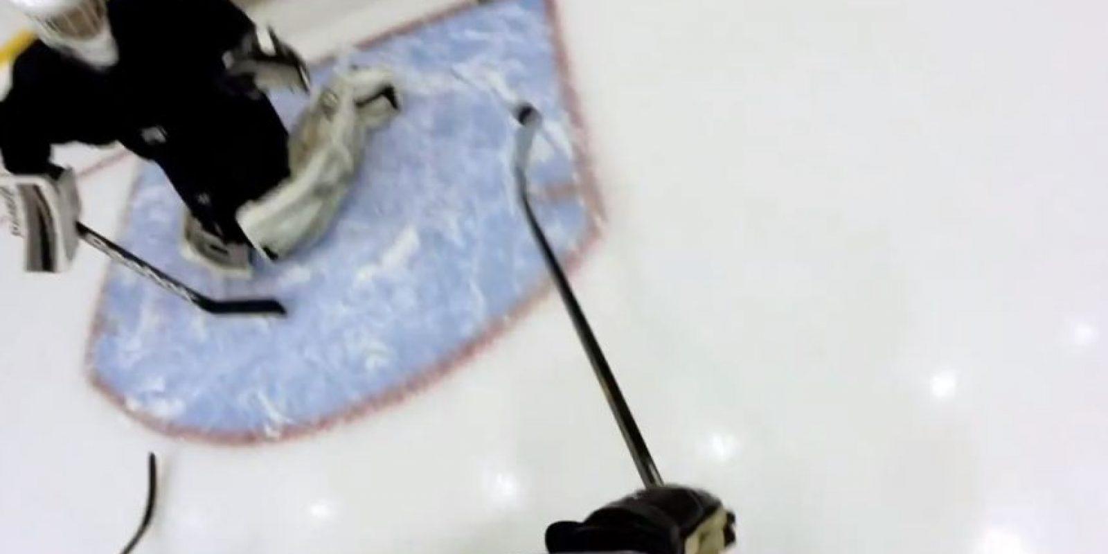 Hockey sobre hielo Foto:GoPro