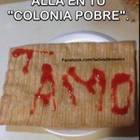 Esta declaración de amor en un chicharrón. Foto:La Diva de México.