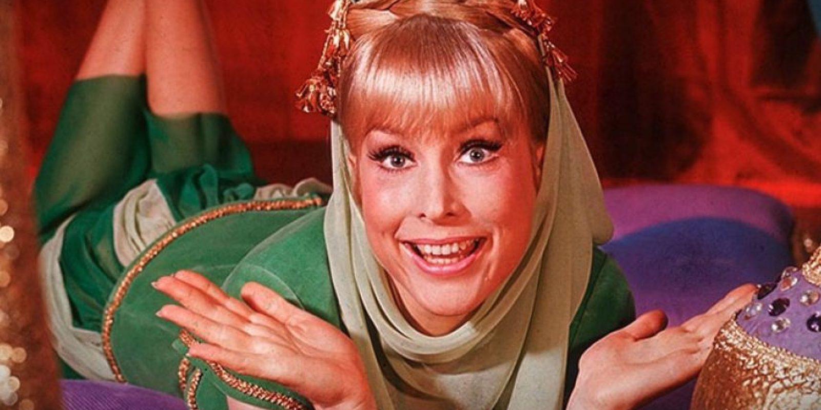 Jeannie (Barbara Eden) : La actriz con más de 50 años de carrera artística no solo triunfó interpretando a Jeannie, sino que consolidó su fama en diferentes películas y series de televisión. Actualmente tiene 83 años Foto:NBC