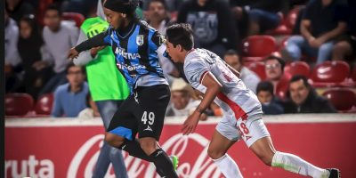 Ha marcado tres goles Foto:Facebook: Ronaldinho Gaúcho