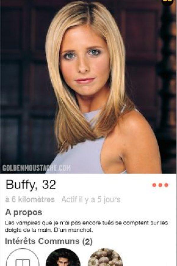 Serie: Buffy la Cazavampiros Foto:goldenmoustache.com