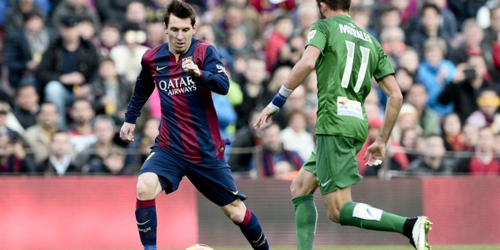 El Barcelona mantuvo su paso ganador y goleó 5-0 al Levante. Foto:AFP