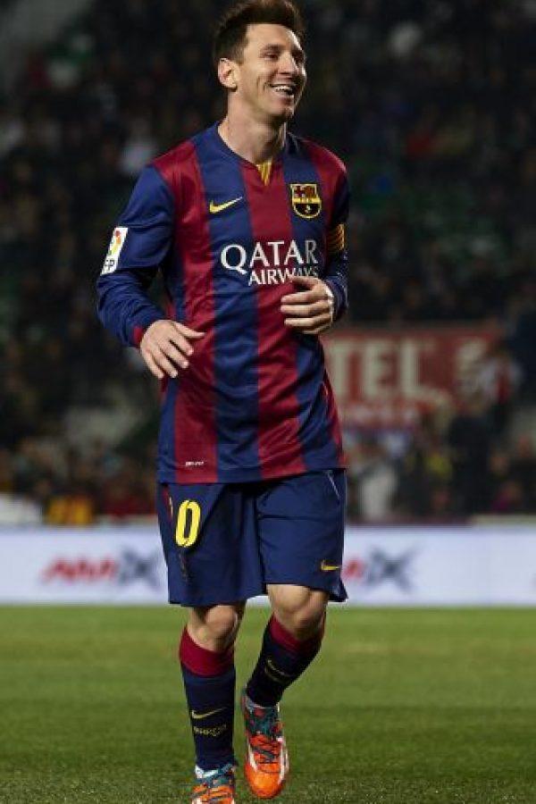Racha más larga marcando en la Liga: 33 goles en 21 jornadas consecutivas desde la número 11 hasta la 34 de la Liga 2012/13. Foto:Getty Images