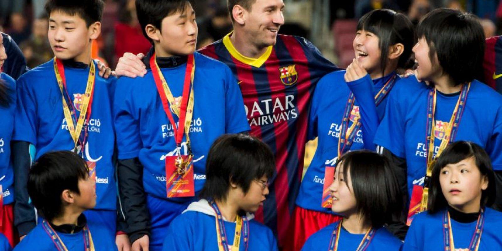 Máximo goleador en una Liga: la temporada 2011/12, con 50 goles Foto:Getty Images