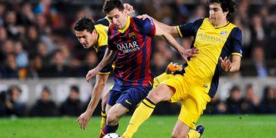 . Primero en marcar en una vuelta entera en la Liga: 30 goles en 19 jornadas seguidas en la Liga 2012/13, de la 11 a la 29. Foto:Getty Images