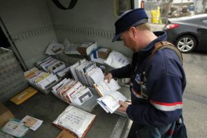 Correo postal Foto:Agencias