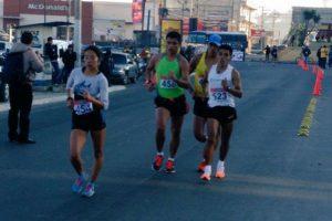 En la competencia que se desarrolló en Quetzaltenango, Barrondo terminó primero en los 20 kilómetros. Foto:CDAG