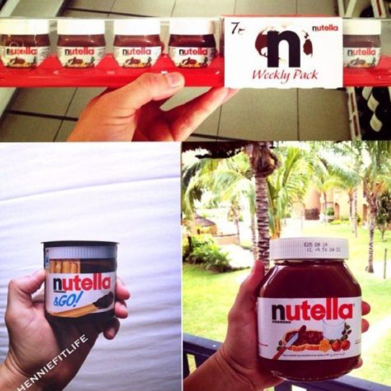 """9. Nutella Facebook tiene más de 30 millones de """"Me gusta"""" Foto:Iconosquare.com/WorldNutellaDay/"""