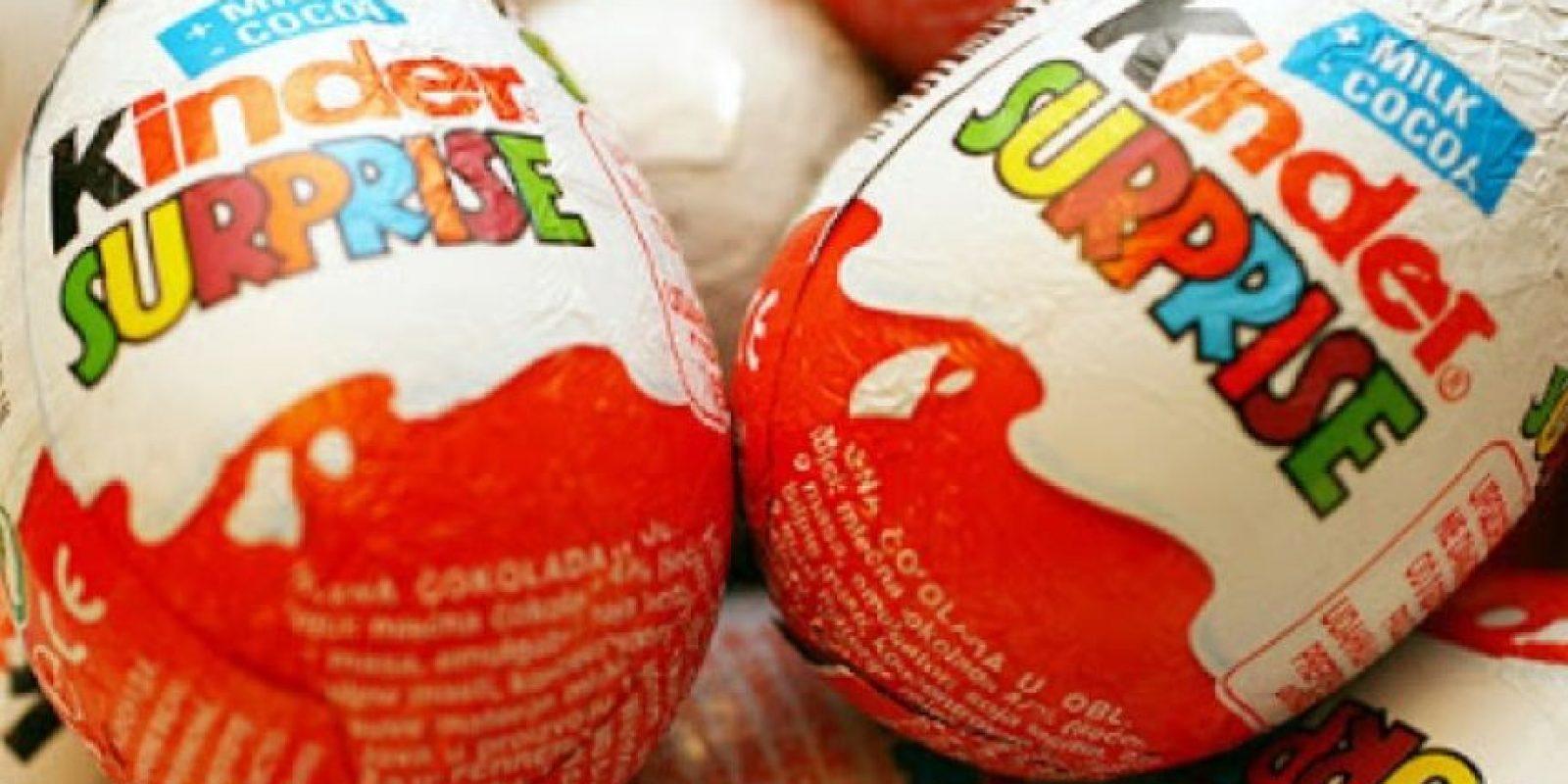 10. Los fabricantes aseguran que la Nutella vendida en un año es suficiente para cubrir mil canchas de fútbol. Foto:Tumblr.com/Kinder-huevo