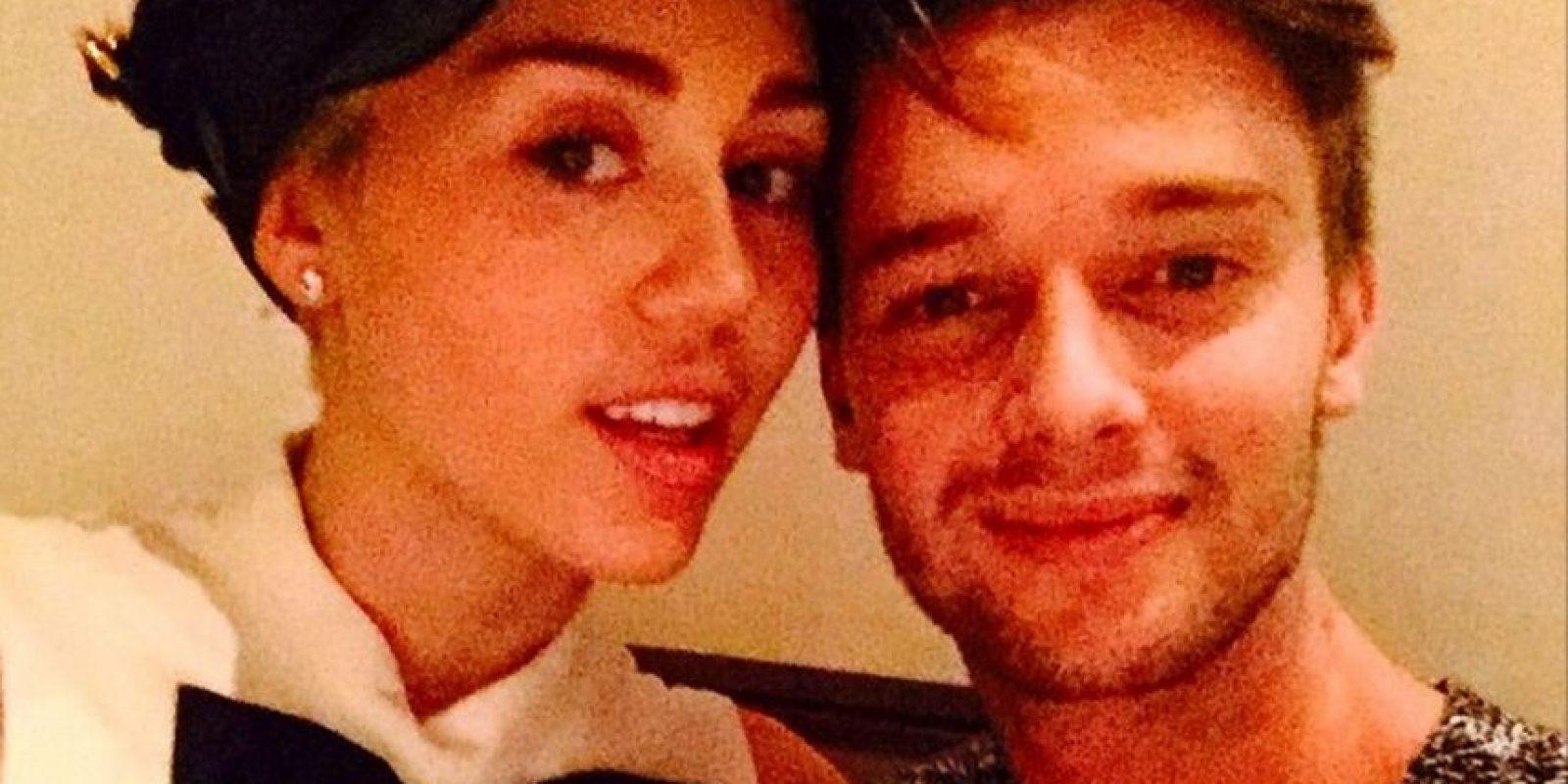 Miley Cyrus y Patrick Schwarzenegger Foto:Instagram