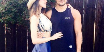 Eiza González y DJ Cotrona, esta la compartió el guapo galán de Eiza Foto:Instagram