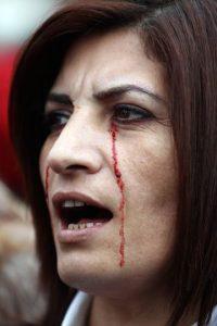 1. Según la ONU Mujeres, la violencia contra niñas y mujeres es una pandemia. Foto:AFP
